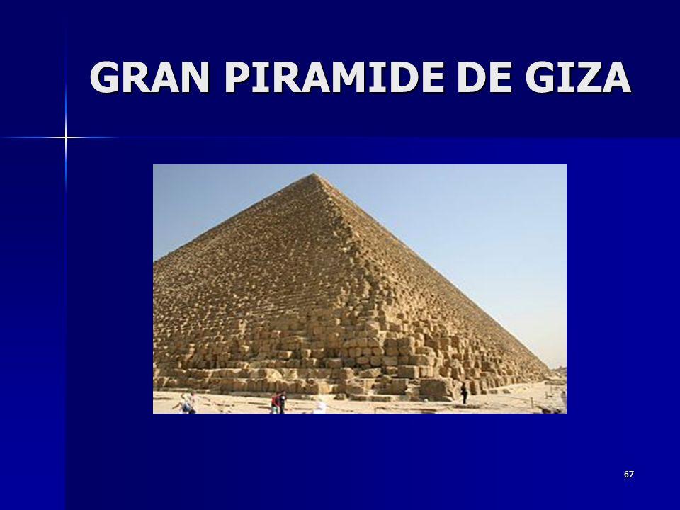 67 GRAN PIRAMIDE DE GIZA
