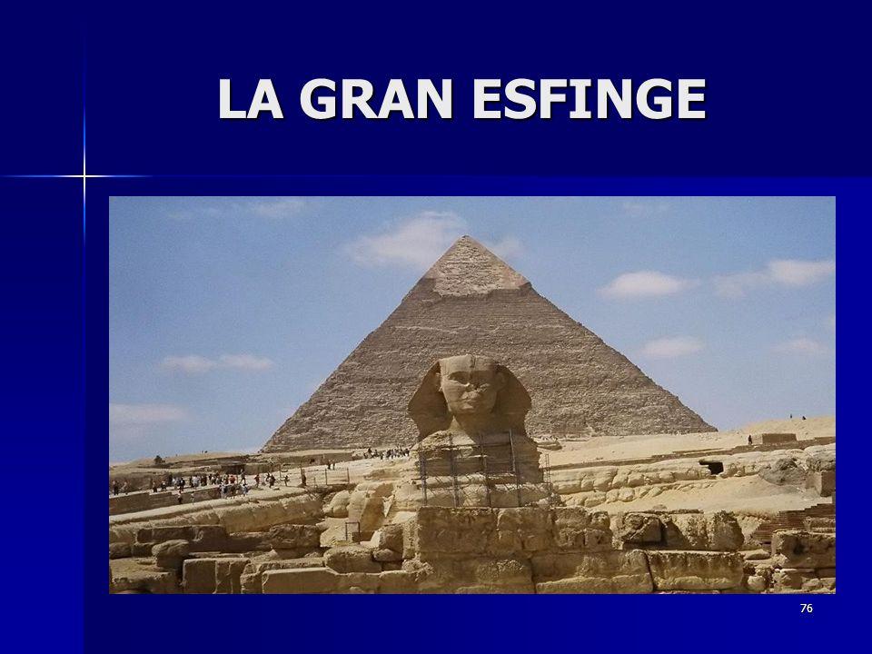 76 LA GRAN ESFINGE