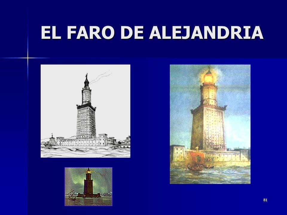 81 EL FARO DE ALEJANDRIA