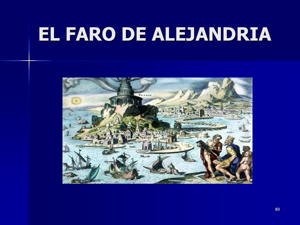 83 EL FARO DE ALEJANDRIA