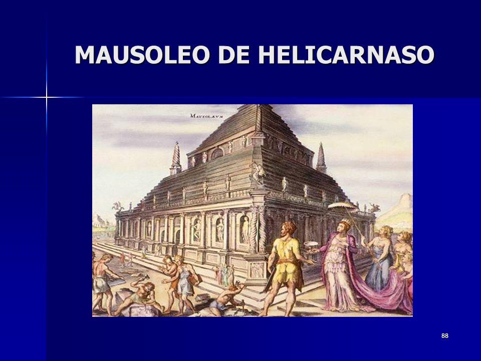 88 MAUSOLEO DE HELICARNASO