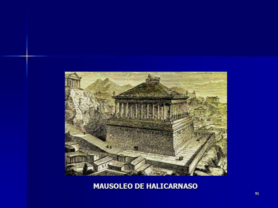 91 MAUSOLEO DE HALICARNASO
