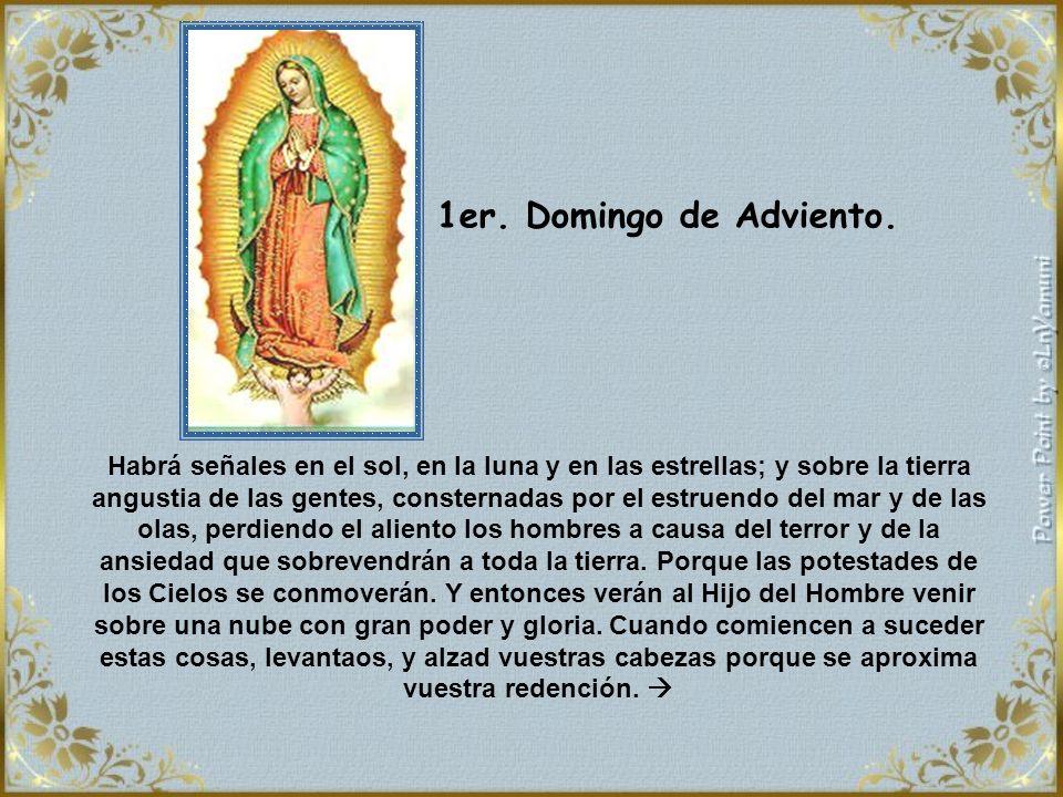 ¡Cómo contrasta la esperanza de Nuestra Señora con nuestra impaciencia.
