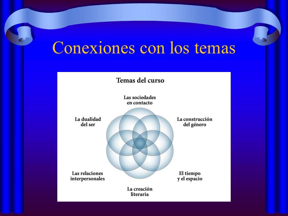 Conexiones con los temas