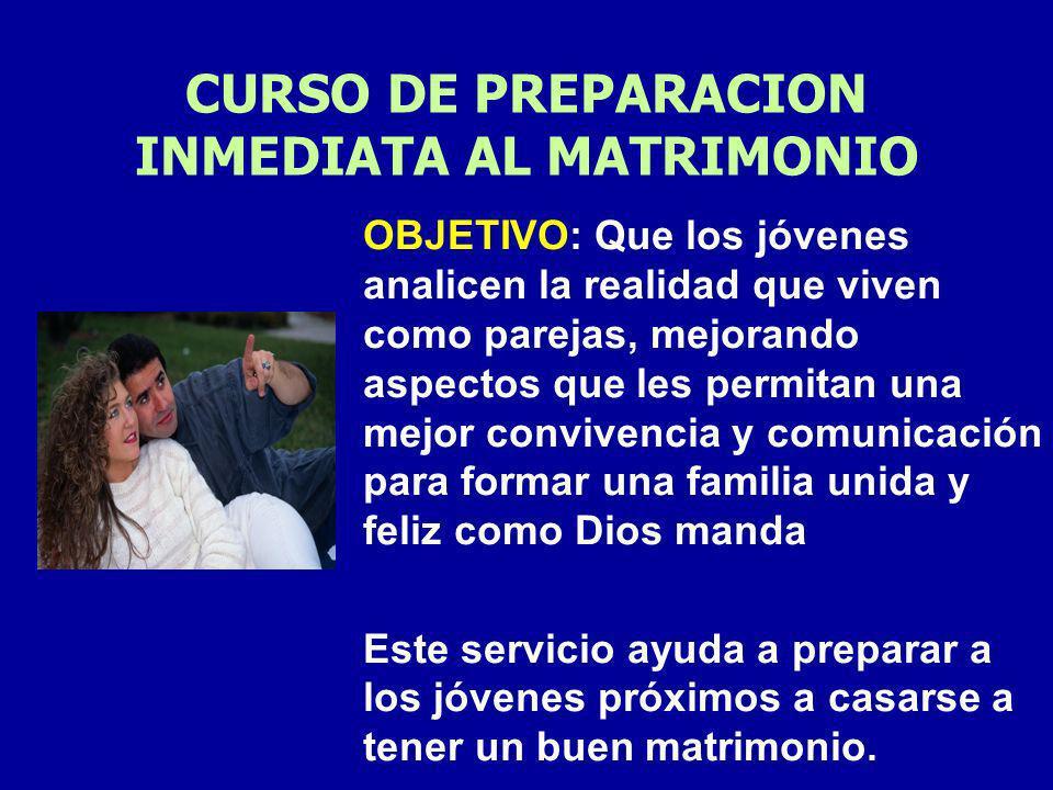 Las sesiones son dirigidas por un Matrimonio Coordinador para reflexionar temas sobre Noviazgo y el Matrimonio. Guiándolos hacia el sentido Cristiano,