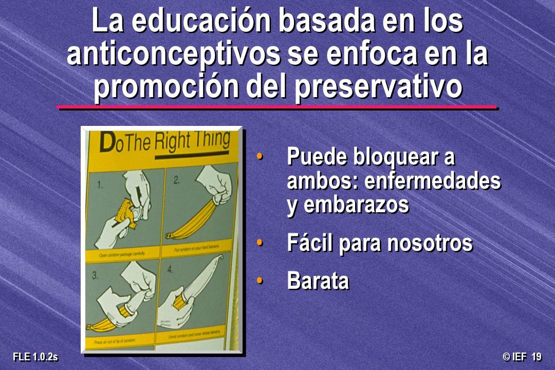 © IEF 19 FLE 1.0.2s Puede bloquear a ambos: enfermedades y embarazos Fácil para nosotros Barata La educación basada en los anticonceptivos se enfoca e
