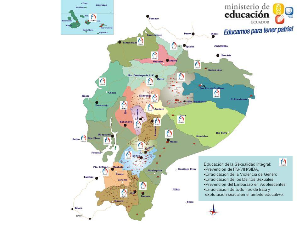 Educación de la Sexualidad Integral: Prevención de ITS-VIH/SIDA, Erradicación de la Violencia de Género, Erradicación de los Delitos Sexuales Prevenci