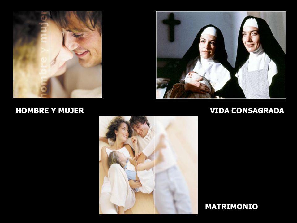 La castidad: ¿algo pasado de moda? VIDA CONSAGRADA MATRIMONIO HOMBRE Y MUJER