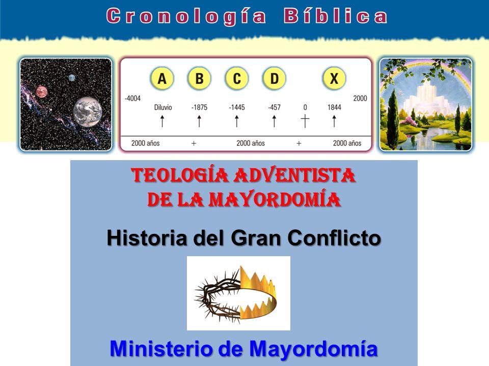 TEOLOGÍA ADVENTISTA DE LA MAYORDOMÍA Historia del Gran Conflicto Ministerio de Mayordomía