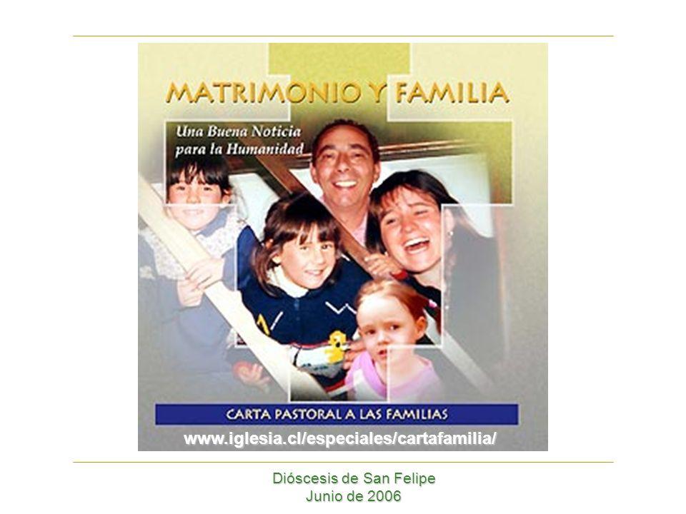 Dióscesis de San Felipe Junio de 2006 www.iglesia.cl/especiales/cartafamilia/