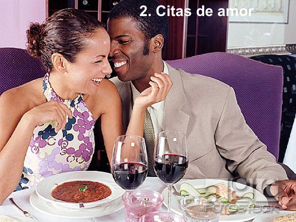 2. Citas de amor