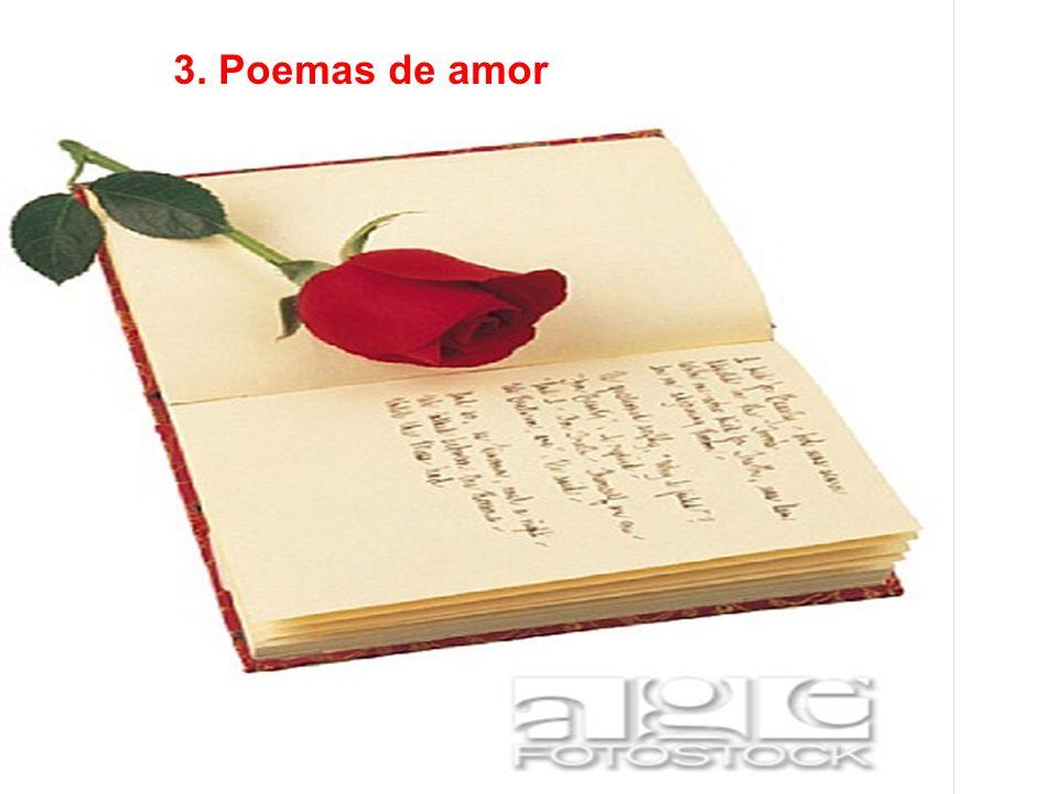 3. Poemas de amor