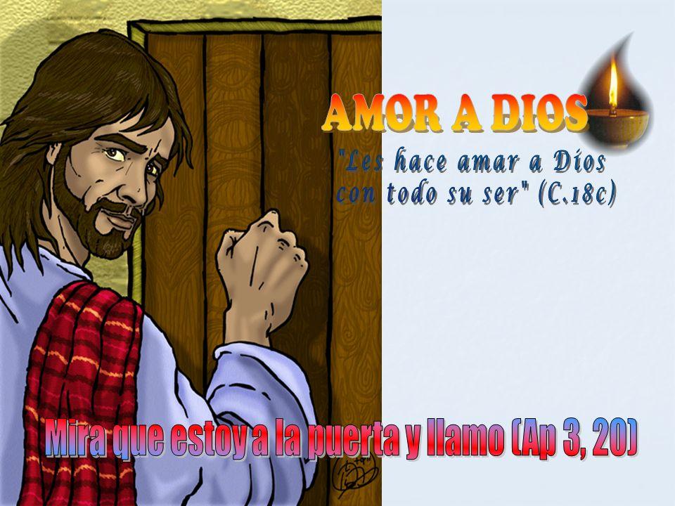 EL AMOR NO DICE BASTA (BIS) AMOR Y MÁS AMOR QUE NUNCA DICE BASTA (Bis) Sólo el amor de Dios es lo que se encuentra siempre, todo lo demás sobra.