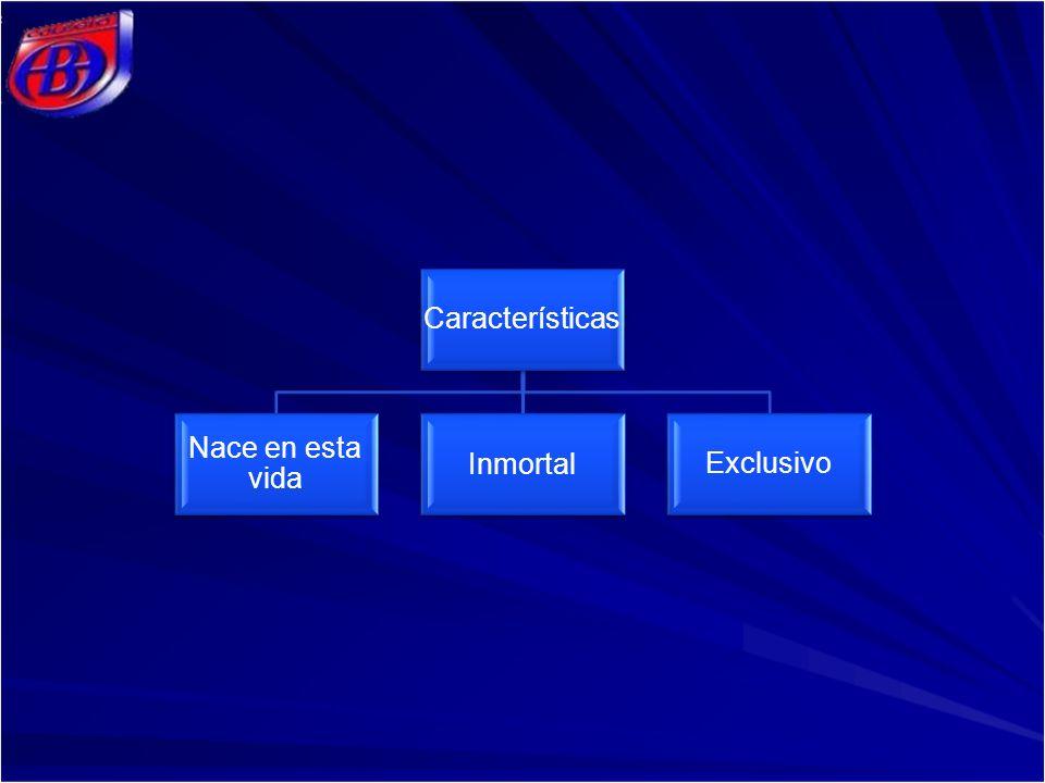 Características Nace en esta vida Inmortal Exclusivo