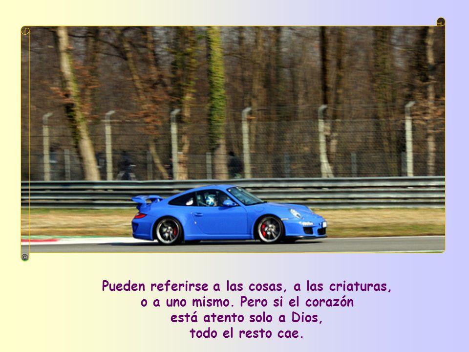 Así pues, la pureza es fruto de vivir la Palabra, todas esas Palabras de Jesús que nos liberan de los llamados apegos, en los que caemos sin remedio s