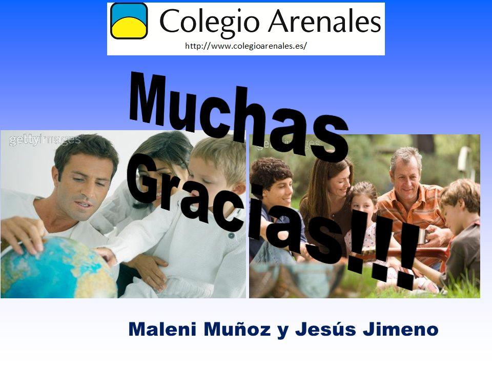 Maleni Muñoz y Jesús Jimeno