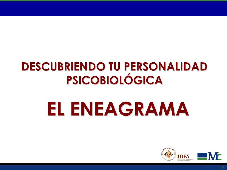 1 DESCUBRIENDO TU PERSONALIDAD PSICOBIOLÓGICA EL ENEAGRAMA