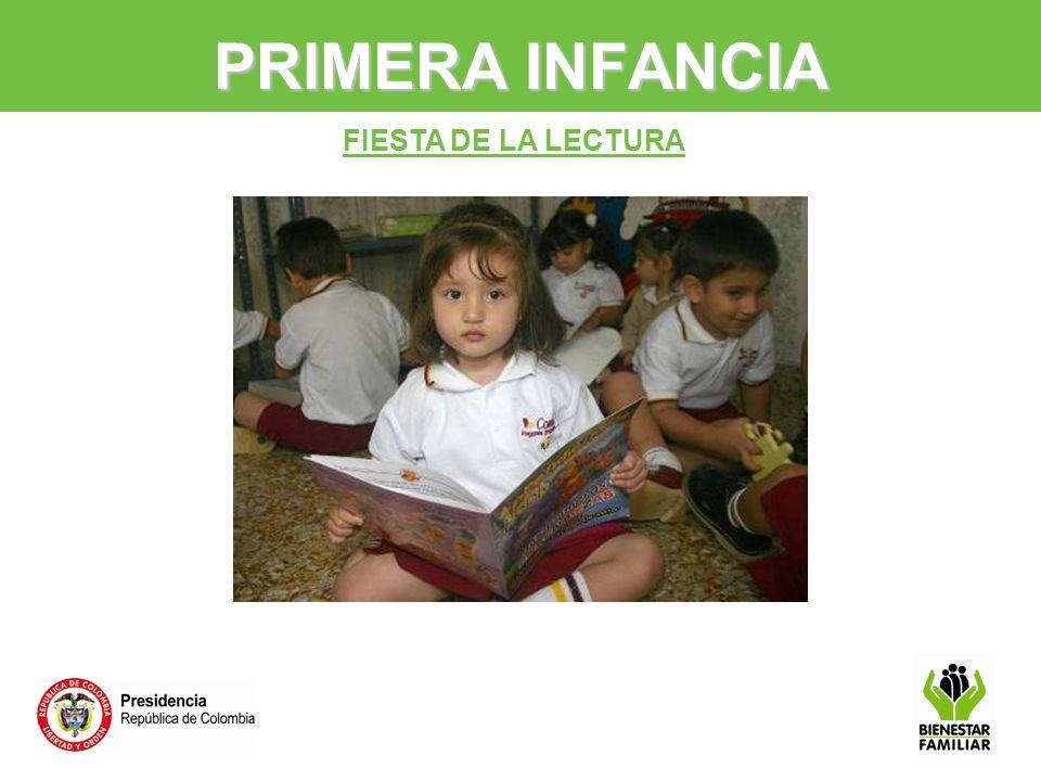 FIESTA DE LA LECTURA PRIMERA INFANCIA