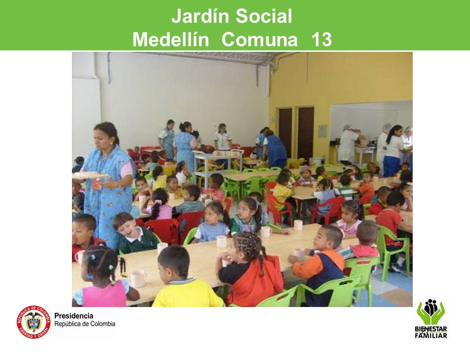 27 Jardín Social Medellín Comuna 13