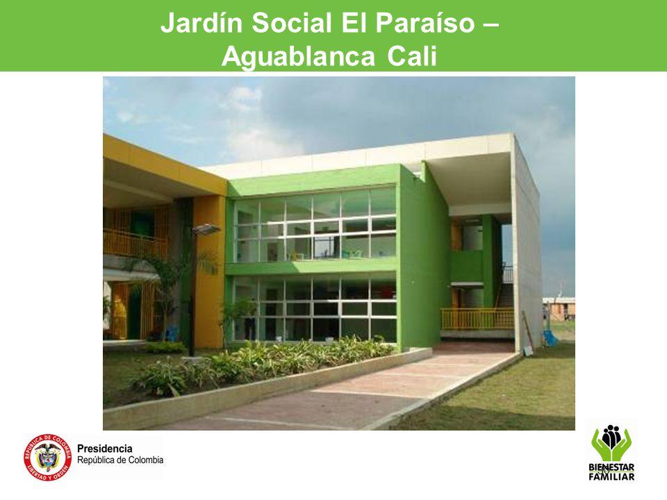 30 Jardín Social El Paraíso – Aguablanca Cali