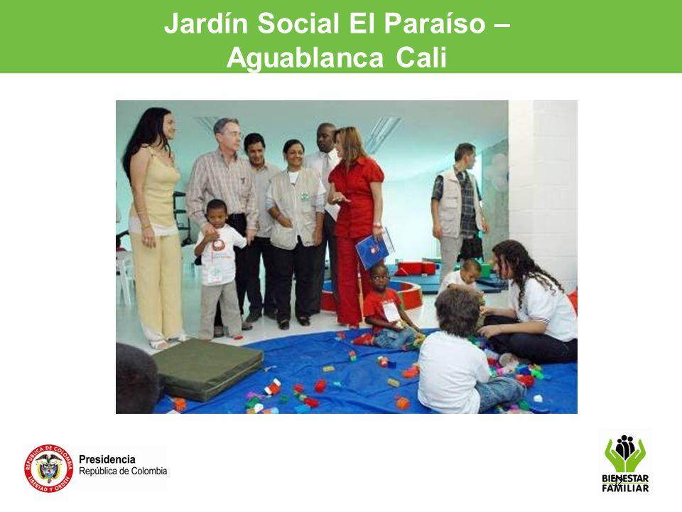 32 Jardín Social El Paraíso – Aguablanca Cali