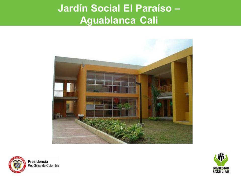 33 Jardín Social El Paraíso – Aguablanca Cali
