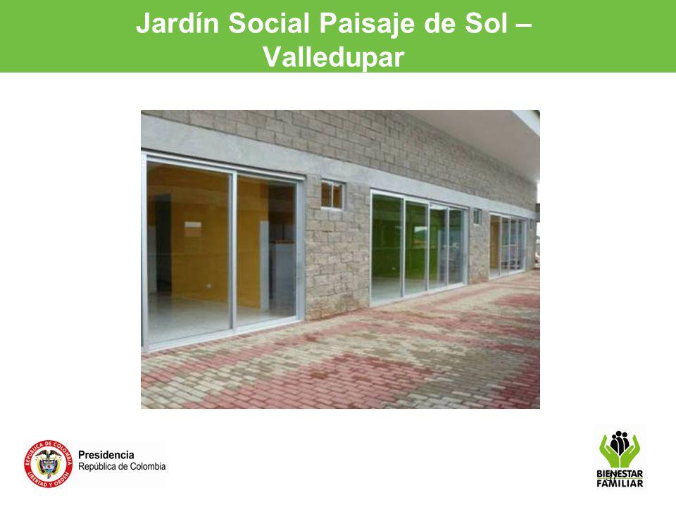 37 Jardín Social Paisaje de Sol – Valledupar