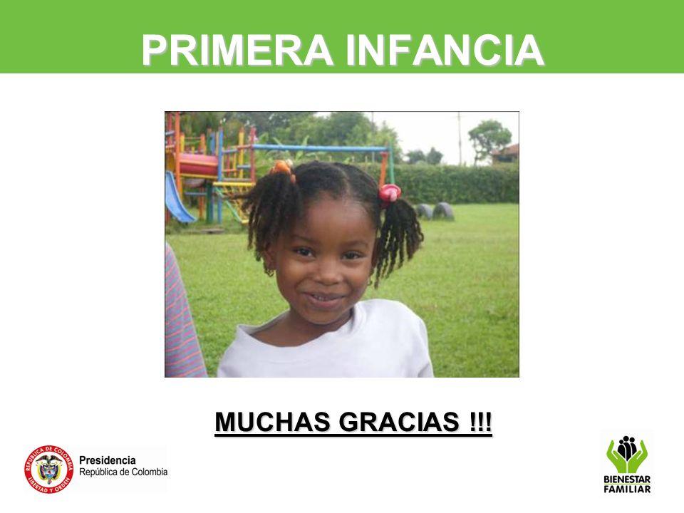 PRIMERA INFANCIA MUCHAS GRACIAS !!!