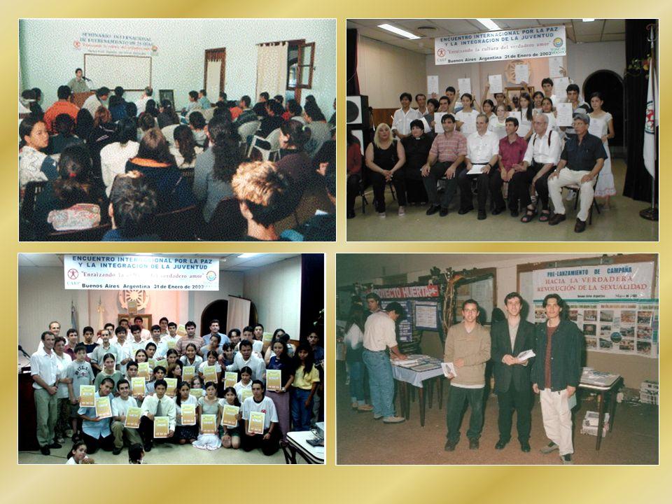 FEDERACIÓN DE MUJERES PARA LA PAZ MUNDIAL (FMPM) (ONG con estatus consultivo en las Naciones Unidas) FUNDACIÓN EDUCATIVA INTERNACIONAL DE AMÉRICA LATINA (FEI-AL)