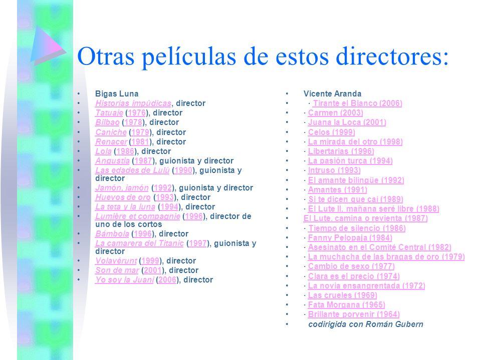 Otro director con carga erótica: Luis Buñuel Viridiana (1961).