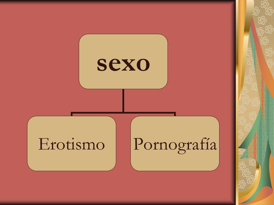 Erotismo Amor sensual Carácter de lo que excita el amor sensual Exaltación del amor físico en el arte (Diccionario de la Real Academia Española, http://www.rae.es) http://www.rae.es