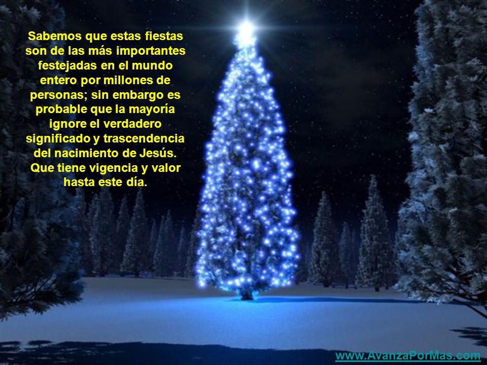Navidad viene del latín: nativitas, y significa 'nacimiento', el nacimiento siempre es un nuevo tiempo, algo que ha salido a la luz, tanto el año nuev