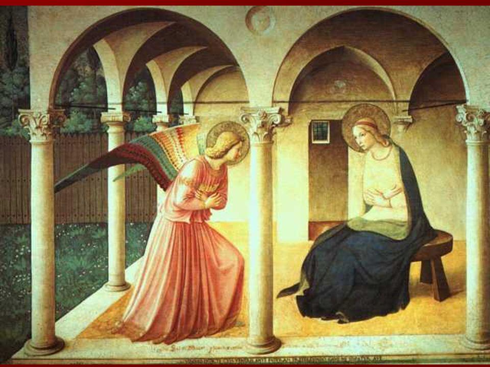FRESCOS DEL CONVENTO DE SAN MARCOS (Florencia, 1438 y 1446-1450). FRESCOS DEL CONVENTO DE SAN MARCOS (Florencia, 1438 y 1446-1450). Se aprecia una inc