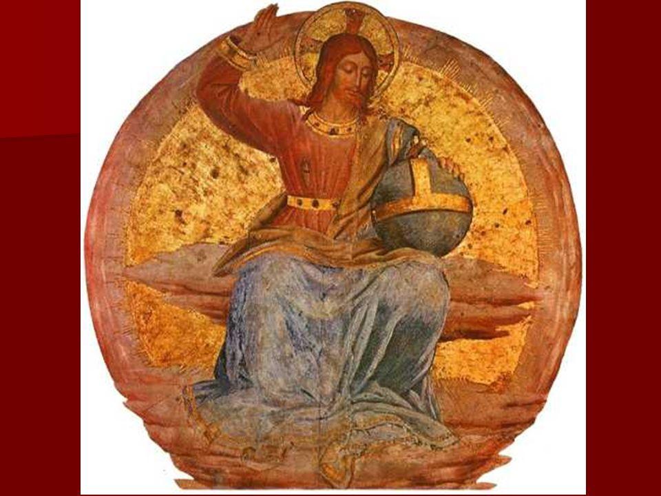 Pero también es cierto que, tras su conocimiento de la obra de Masaccio, Fra Angélico adoptó los nuevos principios espaciales y de concepción plástica renacentista.