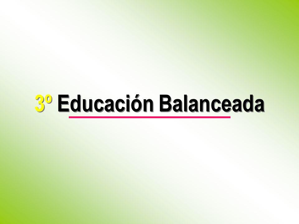 3º Educación Balanceada