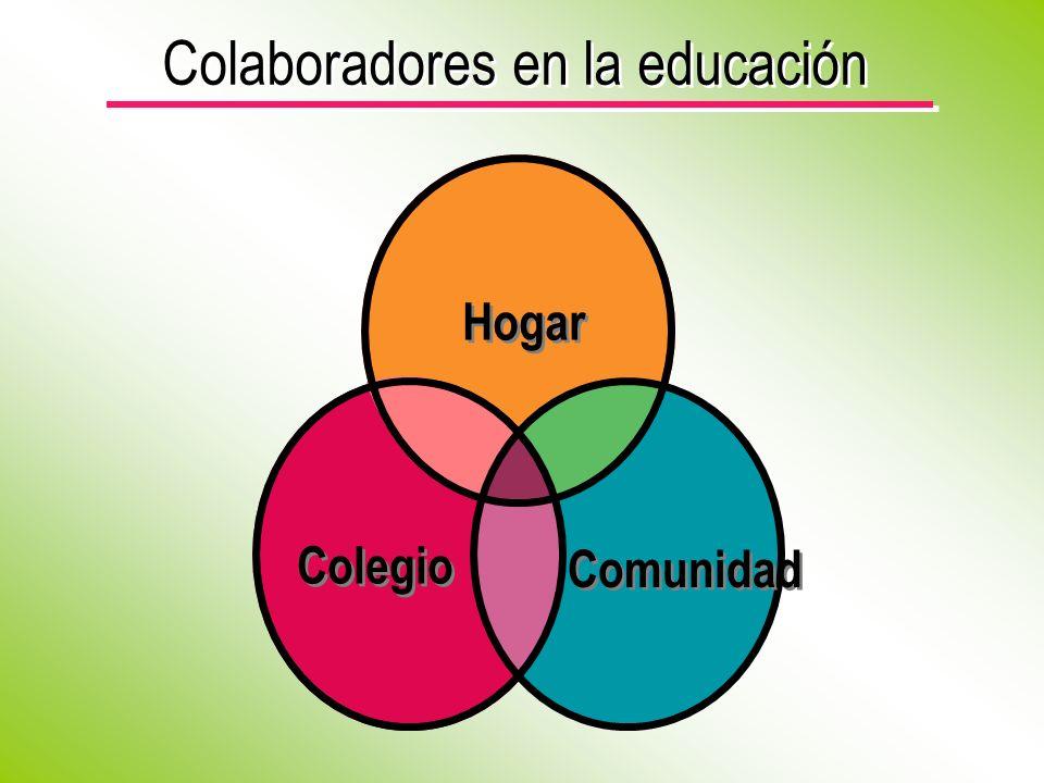 Colaboradores en la educación Hogar Colegio Comunidad