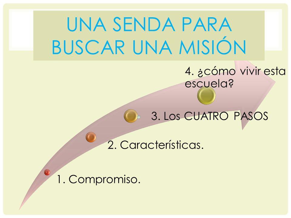 1.COMPROMISO Es un escuela de reto y aventura.