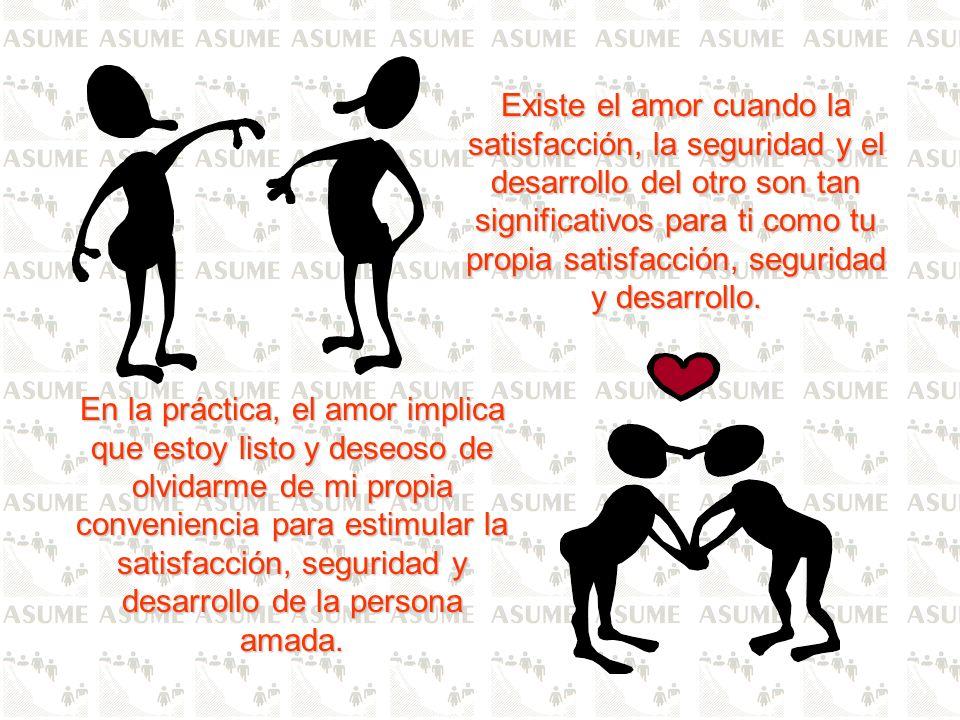 LOS PASOS DEL AMOR SON: CONOCER: Yo no puedo amar a quien no conozco; conocer su manera de ser y de pensar, sus reacciones, sus ideas, sus costumbres, etc.