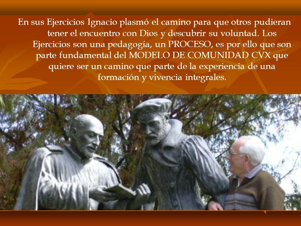 En sus Ejercicios Ignacio plasmó el camino para que otros pudieran tener el encuentro con Dios y descubrir su voluntad.