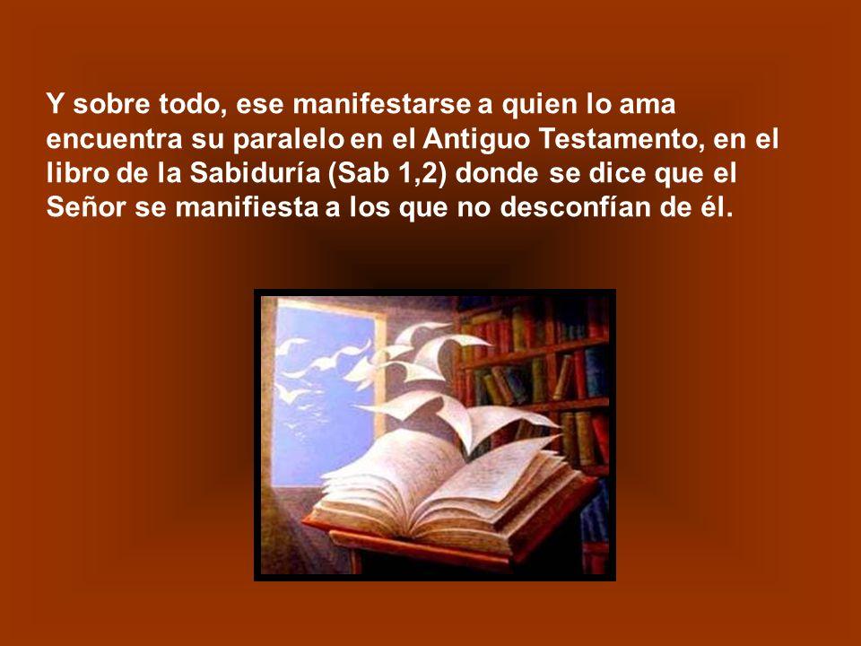 A los que escuchaban a Jesús no les costaba reconocer en sus Palabras un eco de los Libros Sapienciales: El amor es la observancia de sus leyes y fáci