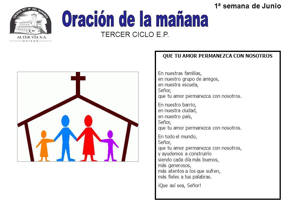 TERCER CICLO E.P.