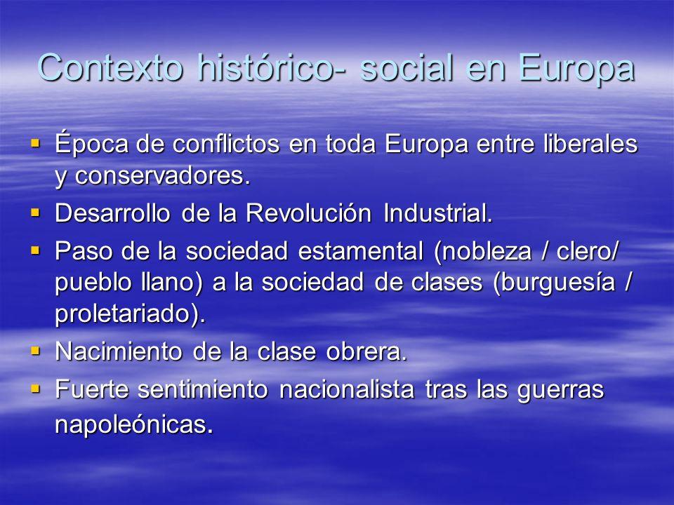 La literatura romántica Temas: Temas: - Temas históricos.