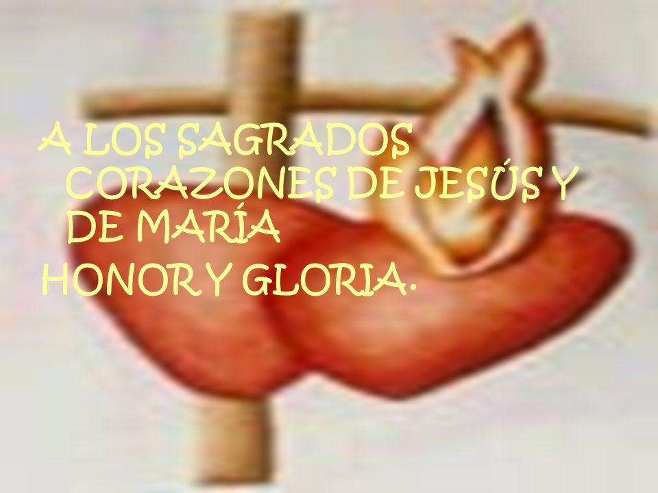 Secretaría Provincial SS.CC. Quito-Ecuador A LOS SAGRADOS CORAZONES DE JESÚS Y DE MARÍA HONOR Y GLORIA.