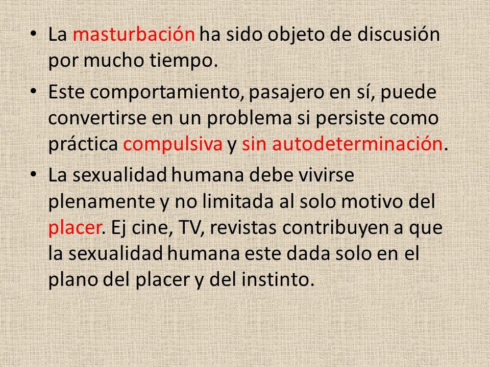 La masturbación ha sido objeto de discusión por mucho tiempo. Este comportamiento, pasajero en sí, puede convertirse en un problema si persiste como p