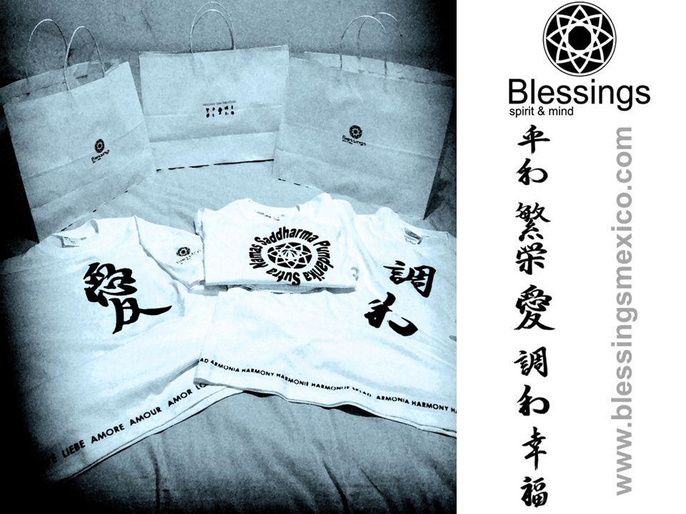 Empaque Se entrega empacada en caja con logo Papel de china Señalizada con palabra y talla Bolsa (on request) Oración según la palabra Folleto explicativo del concepto.
