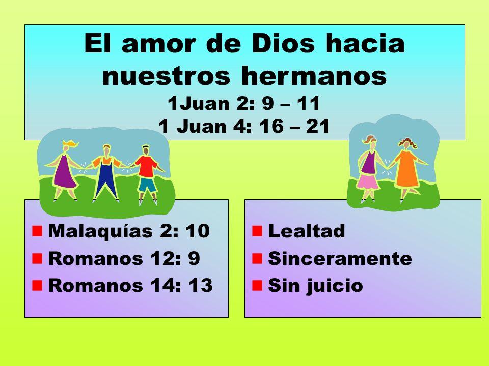 Romanos 15: 1 Filipenses 1: 3 – 11 1Tesal. 4: 9 – 12 Paciencia Intercesión Fraternal