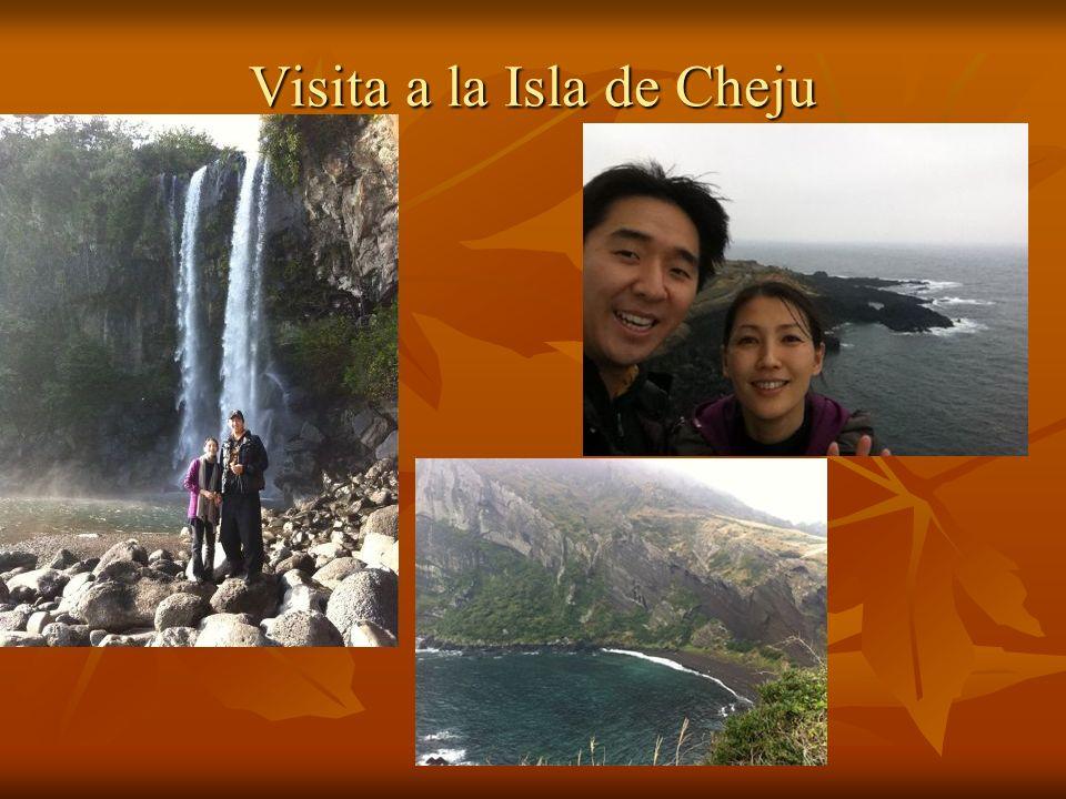 Visita a la Isla de Cheju