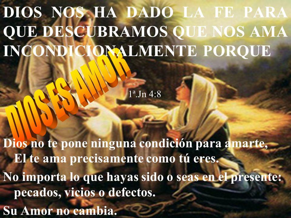 Creencias Egoísmo Odio Mentira Injusticia Corrupción Orgullo Creencias FE en Dioses de las Dios Jesús Proceso de maduración de la fe hacia el Amor.
