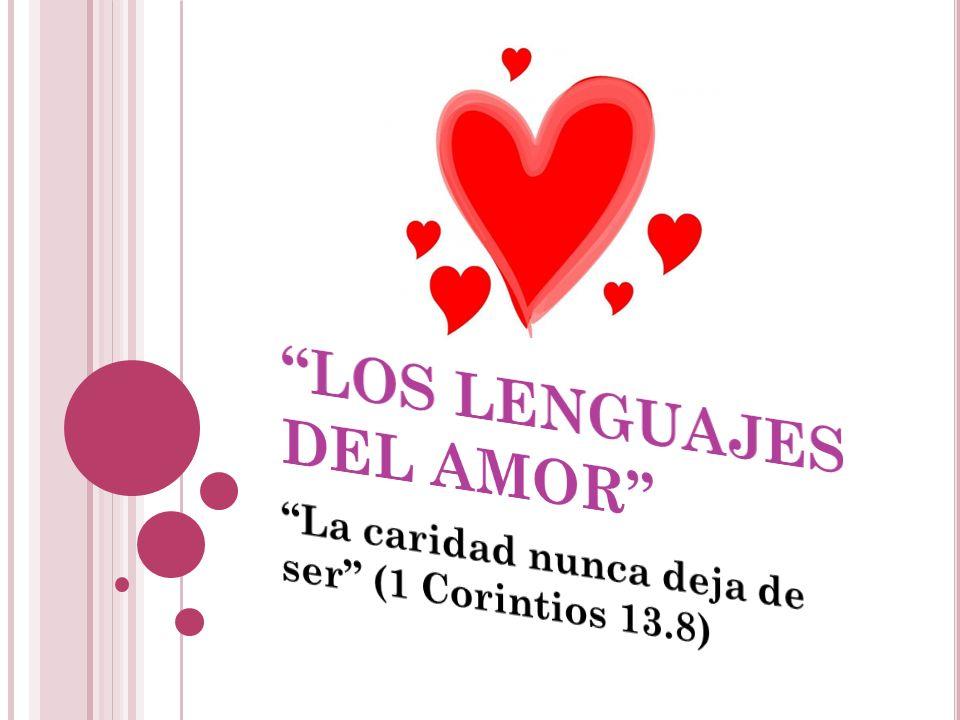 EL ORIGEN DEL AMOR, 1 J UAN 4.8 Dios es el origen del amor, porque Dios es amor.