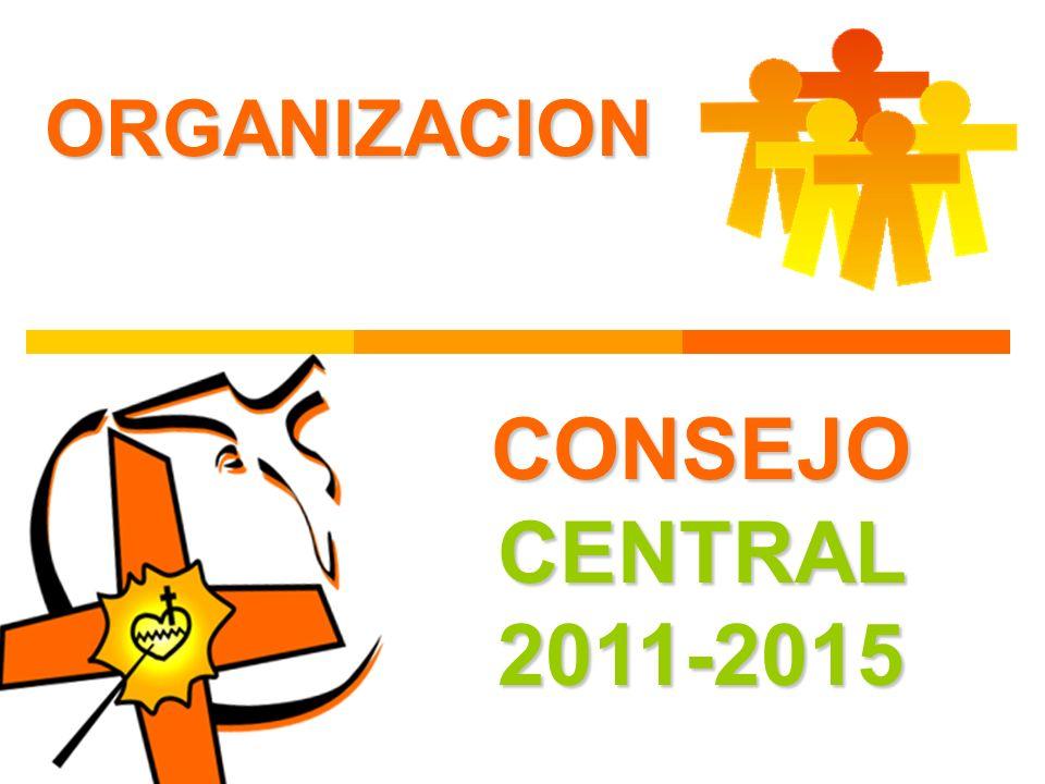 ORGANIZACION CONSEJO CENTRAL 2011-2015